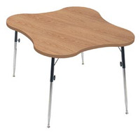 HAUSMANN 4334 TABLE WITH ADJUSTABLE LEGS