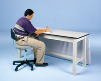 HAUSMANN 4082 COMBINATION TREATMENT WORK TABLE DESK