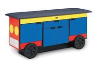 HAUSMANN 4970 TRAIN CAR DESIGN PEDIATRIC TABLE