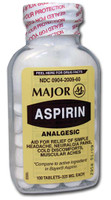 MAJOR 700789 ASPIRIN TABLETS