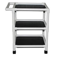 "MJM 325-243 SERIES ""300"" X-WIDE 24"" UTILITY MINI LINEN CARTS"