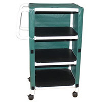 "MJM 325-243C SERIES ""300"" X-WIDE 24"" UTILITY MINI LINEN CARTS"