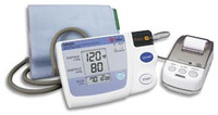 OMRON HEM-705CPN MEMORY, PRINT-OUT & GRAPH BLOOD PRESSURE MONITOR