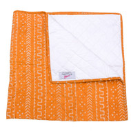 Apricot Tribals Organic Cotton Baby quilt