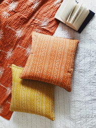 Rust Palm Trees  Kantha Quilt