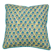 Sage Blue Delft  Cushion Cover