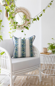 Floral Trellis Cushion Cover