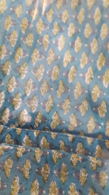 Teal Blue Meadow Small Pillowcase