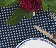 Indigo Dotty  Napkins -Set of 4