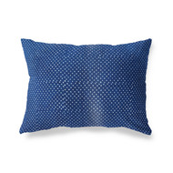 Indigo Polka Dots  Pillowcase