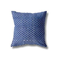 Indigo Dots Euro Cushion Cover