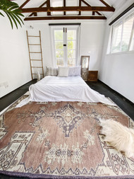 Ambre Large  Upcycled Rug