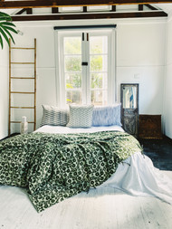 Sage Gumnuts Queen Quilt Cover
