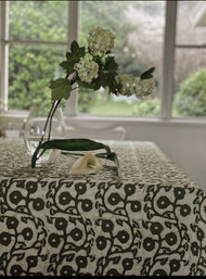 Sage Gumnuts  Round Tablecloth