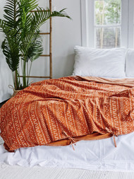 Autumn Tribal Quilt Cover -Super King Size