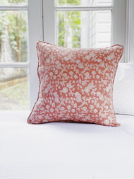 Desert Rose Linen Cushion Cover