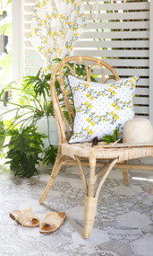Capri Limoncello Euro Cushion Cover