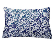 Indigo Hamptons Floral Pillow Cover | Peacocks and Paisleys
