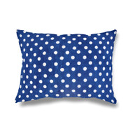 Indigo Dotty Hamptons Pillowcase