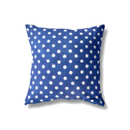 Indigo Dotty Cushion Cover