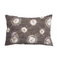 Ecru Shibori Pillowcase