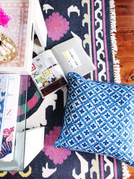Indigo Moroccan Cushion Cover