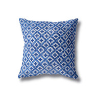 Indigo Moroccan Euro Cushion Cover
