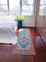 Boheme  Upcycled Rug Runner