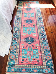 Persia  Upcycled Rug Runner