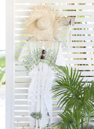 *Boho Palm Trees Kaftan