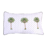 Polka Dot Palm Tree Quilted Pillowcase- Preorders open