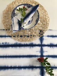 Coogee Coastal Shibori Table Runner