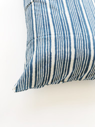 Indigo Bungalow Stripes pillow case