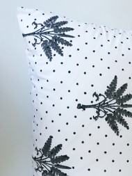 Island Banana Palms Dotty Pillow Case