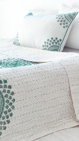 Emerald Moroccan Pillowcase