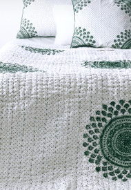 Emerald  Moroccan Cushion Cover