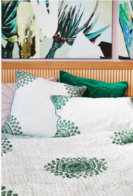Emerald  Moroccan Euro Cushion Cover