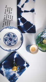 Newport  Shibori  Napkins -Set of 4