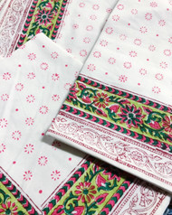 Modern Bohemian Napkins - Set of 4 | Peacocks and Paisleys