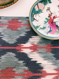 Sahara  Ikat Table Runner