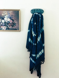 Oceania Shibori  Throw