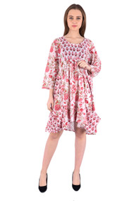 Ruby Chintz dress - Small/Medium Size