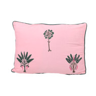 Sunset Pink Palms Small Pillowcase