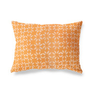 Tangerine  Phulkari Pillowcase