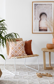 Cinnamon Sundance Linen Cushion Cover
