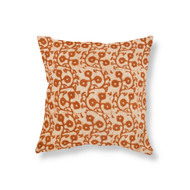 Terracotta Gumnuts Linen Cushion Cover