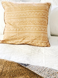 Autumn Tribal Organic Cushion Cover