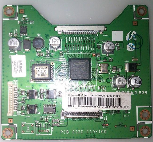 BN41-01098A, BN97-02560A Samsung BN94-02131A Dimming Board