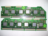 LG 50PS60-UA BUFFER BOARD SET EAX55460401 & EAX55460501 / EBR55460001 & EBR55460101