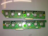 PANASONIC UPPER / LOWER SCAN DRIVE BOARD SET TNPA3219 & TNPA3220